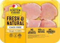 Foster Farms Boneless Skinless Chicken Thigh Fillets