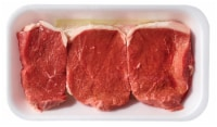 Beef Choice Eye of Round Steak (About 3 per Pack) - $5.99/lb