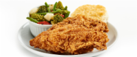 Fried Chicken Breast Meal (NOT AVAILABLE BEFORE 11:00 am DAILY)