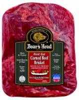 Boar's Head Raw First Cut Corned Beef Brisket