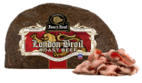 Boar's Head London Broil Cap-Off Top Round Oven Roast Beef