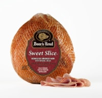 Boar's Head Sweet Slice Boneless Smoked Half Sliced Ham (sold as a whole ham)