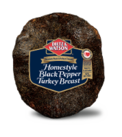 Dietz & Watson Sliced Homestyle Black Pepper Turkey Breast