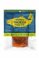Honey Smoked Chipotle and Lime Salmon