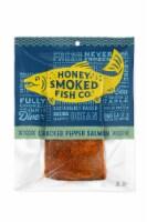 Honey Smoked Cracked Pepper Salmon