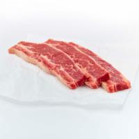 Beef Chuck Bone In Flanken Style Short Ribs