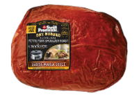 Swift Premium Dry Rubbed Boneless Petite Pork Shoulder Roast Santa Maria Style