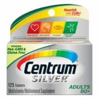 Centrum Silver Adults 50 + Complete Multivitamin / Multimineral Supplement Tablets