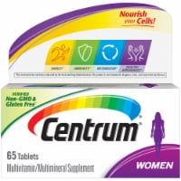 Centrum Women Multivitamin Supplement Tablets 65 Count