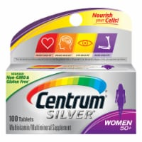 Centrum Silver Women 50+ Multivitamin / Multimineral Supplement Tablets