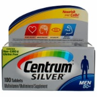 Centrum Silver Men Complete Multivitamin / Multimineral Supplement Tablets