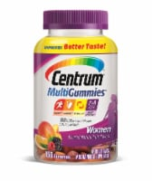 Centrum Women Multivitamin and Multimineral Assorted Natural Fruit Flavors Gummies 150 Count