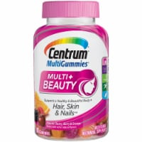 Centrum Multigummies Multi+ Beauty Vitamin Gummies