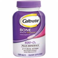 Caltrate Bone Health Advanced 600+D Plus Minerals Tablets