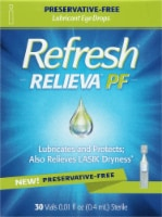 Refresh Relieva PF Lubricant Eye Drop Vials