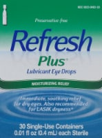 Refresh Plus Moisturizing Relief Lubricant Eye Drops