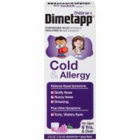 Dimetapp Children's Cold & Allergy Liquid Antihistamine & Decongestant