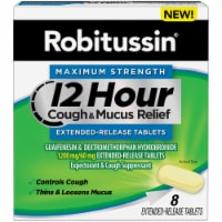 Robitussin 12 Hour Cough & Mucus Relief Extended-Release Tablets