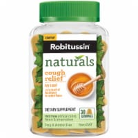 Robitussin Naturals Cough Relief Ivy Leaf Gummies 30 Count
