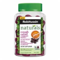 Robitussin Naturals Cough Relief & Immune Health Dietary Supplement Gummies