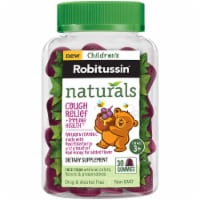 Robitussin Naturals Children's Elderberry & Honey Cough Relief Gummies