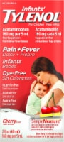 Tylenol Infants' Cherry Flavor Pain + Fever Medicine