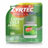 Zyrtec 24-Hour Allergy Relief Liquid Gels 10mg - 40 ct