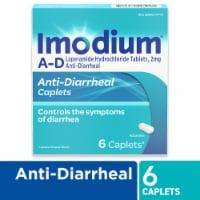Imodium A-D Anti-Diarrheal Caplets 2mg 6 Count