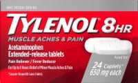 Tylenol 8-Hour Muscle Aches & Pain Reliever/Fever Reducer Caplets 650 mg