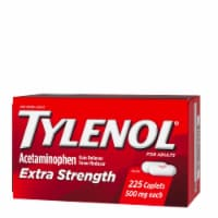 Tylenol Extra Strength Caplets with 500 mg Acetaminophen Pain Reliever & Fever Reducer 225 Count