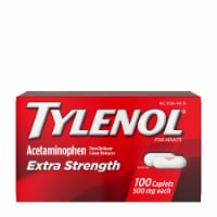 Tylenol Extra Strength Acetaminophen Pain Reliever and Fever Reducer Caplets 500mg