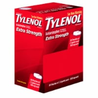 Extra-Strength Caplets, Two-Pack, 50 Packs/Box
