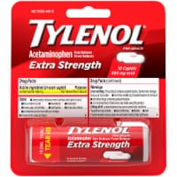 Tylenol Extra Strength Pain Reliever & Fever Reducer Caplets 500mg