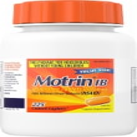 Motrin Ibuprofen Caplets 200mg