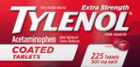 Tylenol Extra Strength Coated Pain Reliever and Fever Reducer Tablets