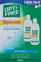Opti-Free Replenish Multi-Purpose Solution Twin Pack - 20 fl oz