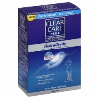 Clear Care Plus with HydraGlyde Contact Lens Solution