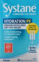 Systane Hydration PF Lubricant Eye Drops - 30 ct