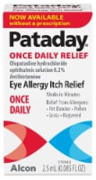 Pataday Once Daily Eye Allergy Itch Relief Eye Drops