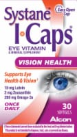 Systane I-Caps Eye Vitamin & Mineral Supplement Softgels - 30 ct