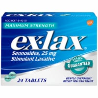 Ex-Lax Maximum Strength Stimulant Laxative Pills 25mg