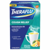 Theraflu Cough Relief Honey Lemon Infused with Chamomile Powder Packets