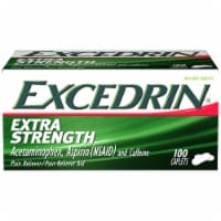 Excedrin Extra Strength Caplets 100 Count - 100 ct