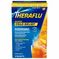 Theraflu Green Tea & Honey Lemon Flavor Multi-Symptom Severe Cold Packets