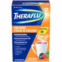Theraflu Daytime Berry Flavored Severe Cold & Cough Packets
