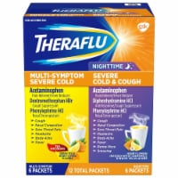 Theraflu Multi-Symptom and Nighttime Severe Cold & Cough Combo Pack