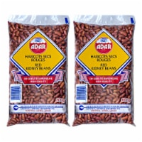 Red Kidney Beans 3.5 Pounds, 8 Packs (each pack 28 oz) - 1