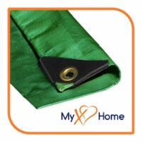 """VS Connections - 12 Mil Heavy Duty Tarp - Canopy - Multipurpose Protective Cover - 10"""" x 16"""" - 1"""