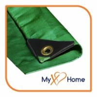"""VS Connections - 12 Mil Heavy Duty Tarp - Canopy - Multipurpose Protective Cover - 14"""" x 20"""" - 1"""