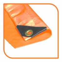 """VS Connections - 12 Mil Heavy Duty Tarp - Canopy - Multipurpose Protective Cover - 10"""" x 12"""" - 1"""